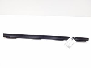 Rear side door strip to glass inner