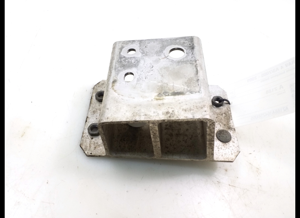 Shock absorber for rear bumper beam