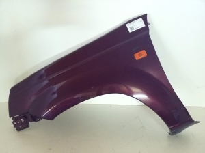 Front wing and its details