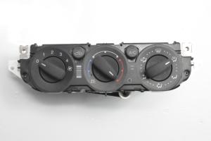 Interior shoulder control panel
