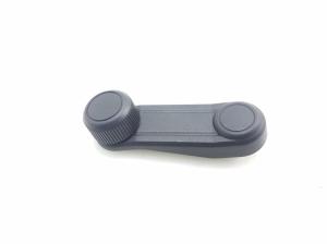 Rear side door glass opening handle