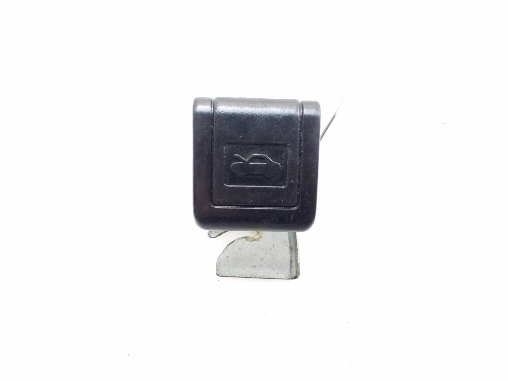 Engine cover opening handle in the passenger compartment
