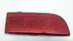 Rear bumper reflector