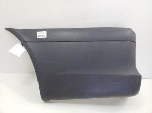 Corner part of the rear bumper