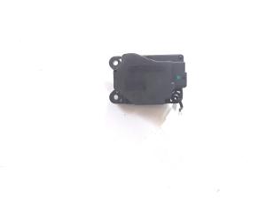 Cooling fan damper motor