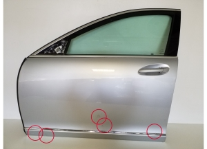 Doors front and its parts