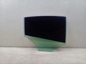 Glass rear side door