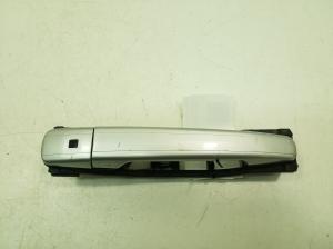 Front door external opening handle and its details