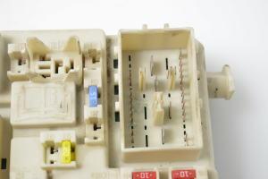 Fuse box in the cabin