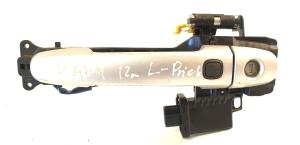 Priekinių durų išorinė atidarymo rankenėlė ir jos detalės
