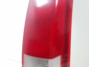 Rear corner lamp and its details