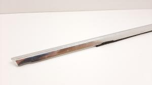 Front door strip to the glass exterior