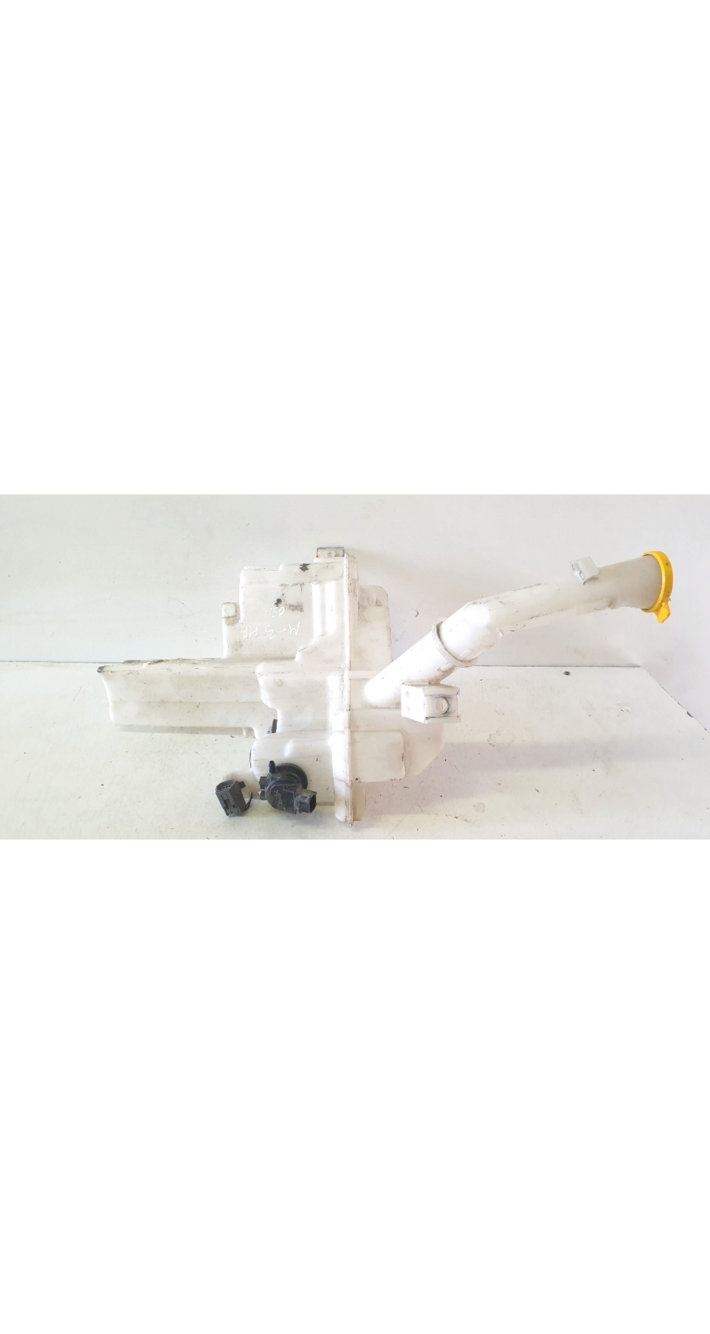 Windscreen washer tank front and its parts