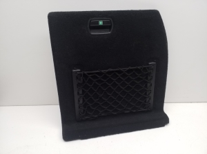 Trunk interior side knockout cover