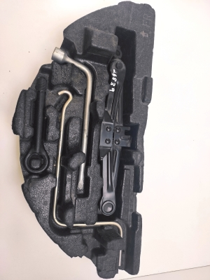 Key case in the trunk and its details