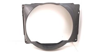 Cooling fan frame