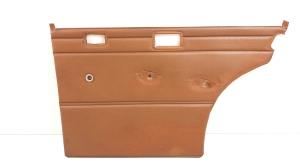 Upholstery of rear side doors