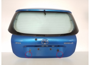 Trunk lid and its parts
