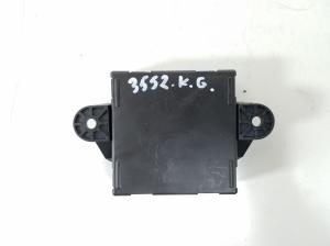 Rear side door control unit