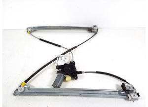 Front door window lifter and its parts