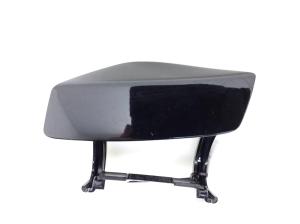 Front bumper headlight washer cap